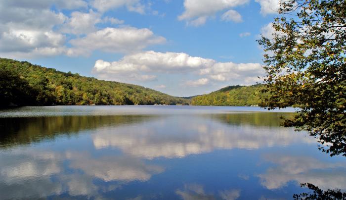 Canopus Lake at Fahnestock State Park