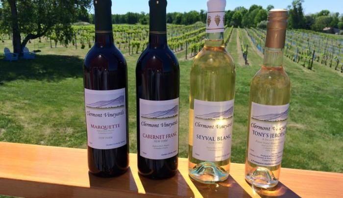 Clermont Vineyard and Winery wines.jpg