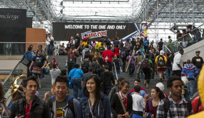 Comic Con Javits 2013 _ Photo by Marley White _ Courtesy of NYC & CO