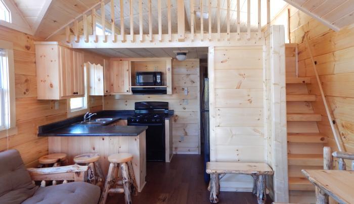 River View Premium Cabin Interior