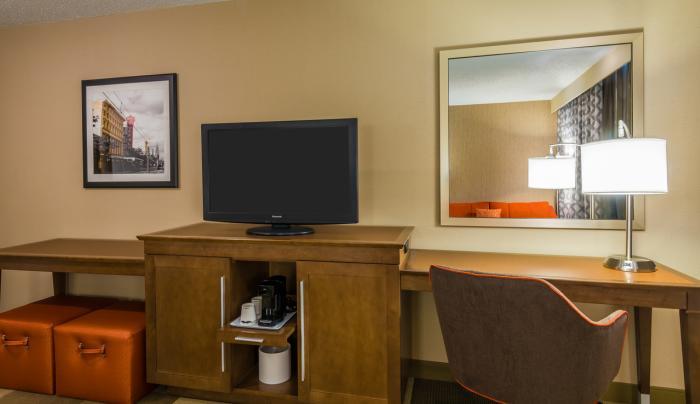 Guest Room TV & Desk