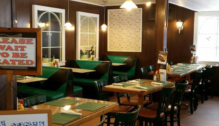 Old school diner in Watkins Glen - a classic!