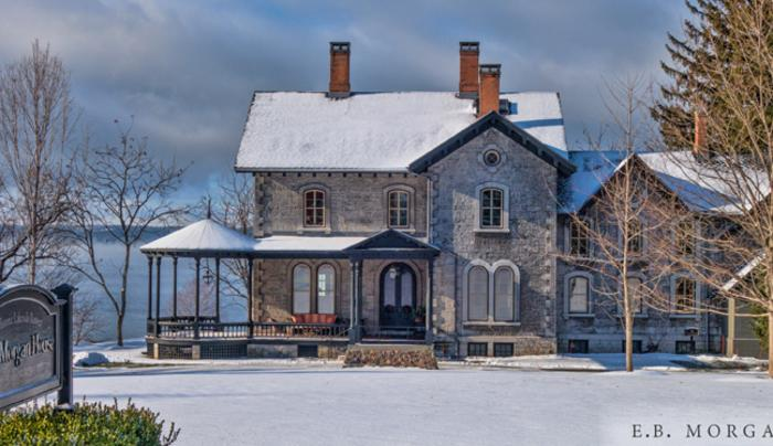 EB Morgan House in Winter