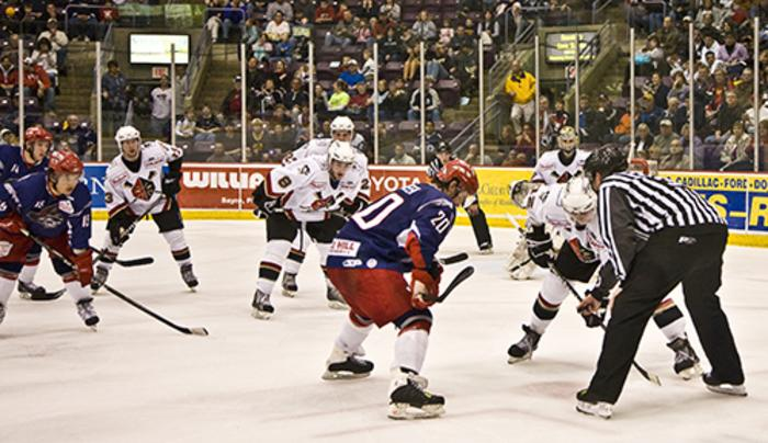 First Arena is home to the Elmira Jackals and a venue for a variety of entertainment.