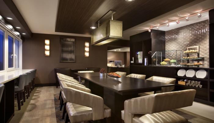 Hilton New York JFK Airport Executive Lounge