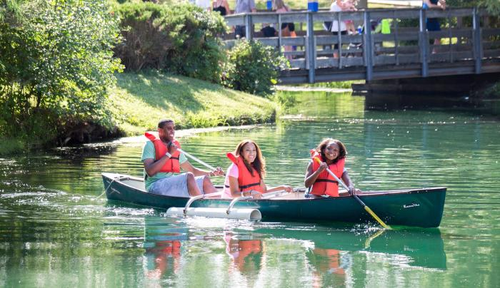 Canoes - Included with Admission!