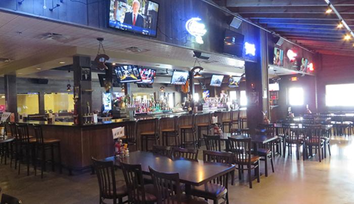 Hammerback Bar & Grill at Good Times Olean Inside Hammerback