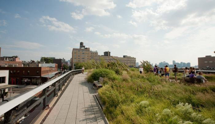 High Line _ Photo by Will Steacy - Courtesy of NYC & CO