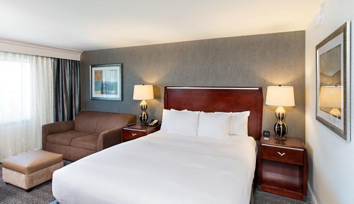 Hilton New York JFK Airport King Executive Room