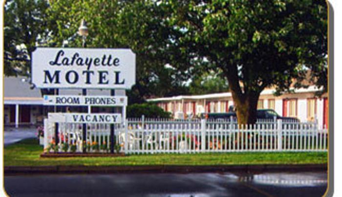 Outside of Lafayette Motel