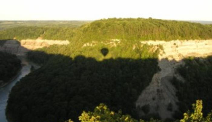 Liberty Balloon Company Launch Site near Castile