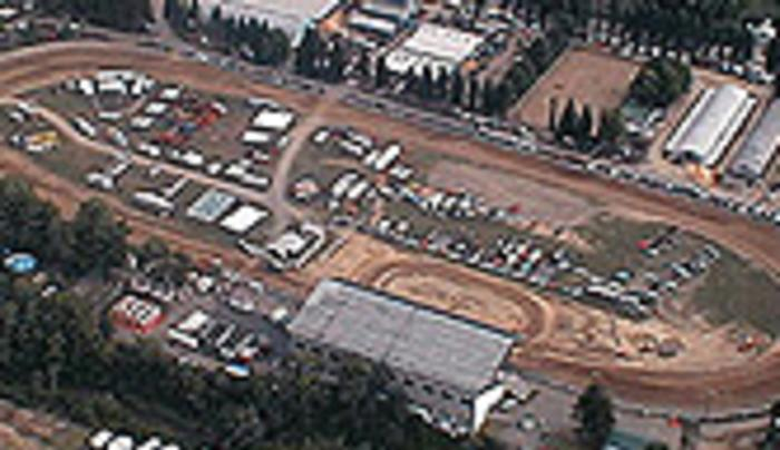 aerial view of Little Valley Speedway