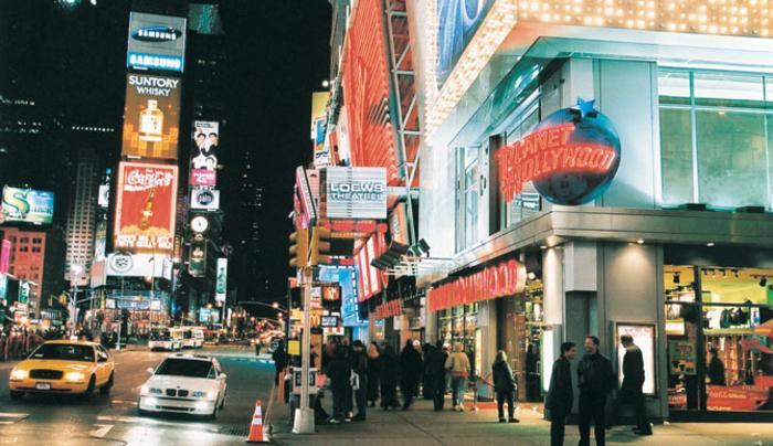 Planet Hollywood New York