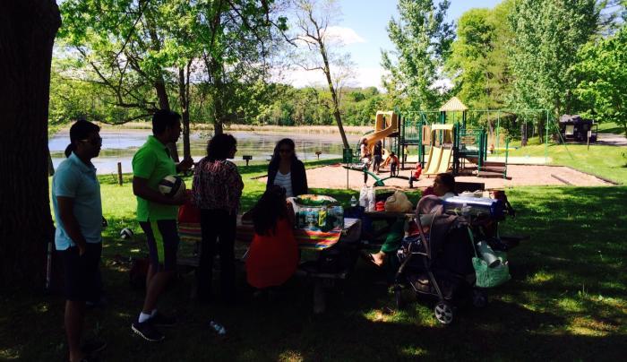Rudd Pond - playground