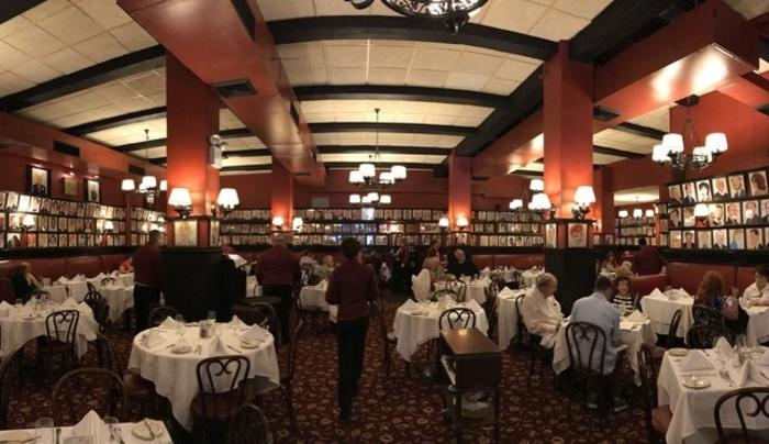 Sardi's Dining Room