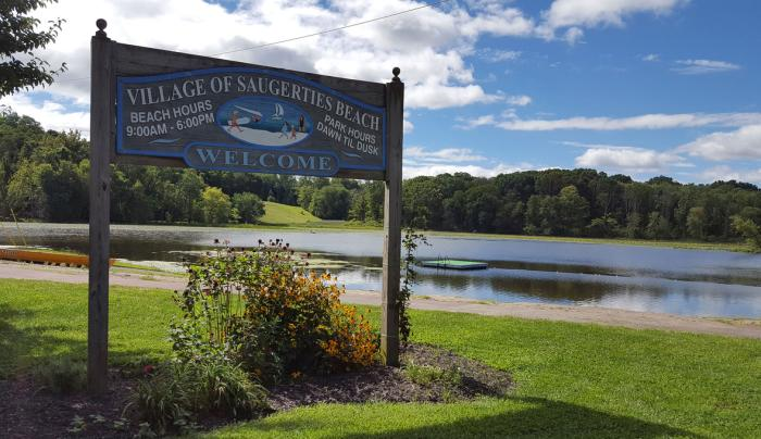Saugerties Village Beach Photo by Nancy Campbell