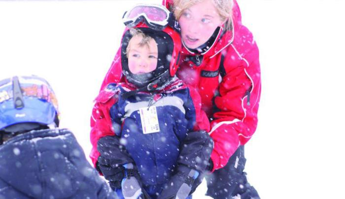 Ski lesson Willard Mtn - Photo Courtesy of Washington County