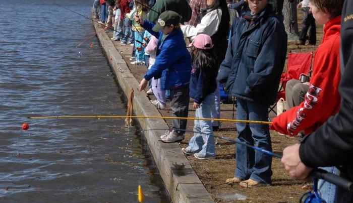 Spring Fresh Water fishing