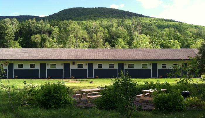 Spruceton Inn - the motel strip -  Photo by Casey Scieszka