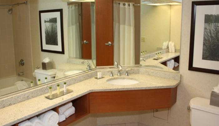 Deluxe and Suite Bathrooms