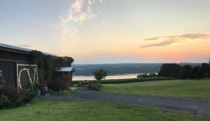 Beautiful views, delicious wines and hard cider