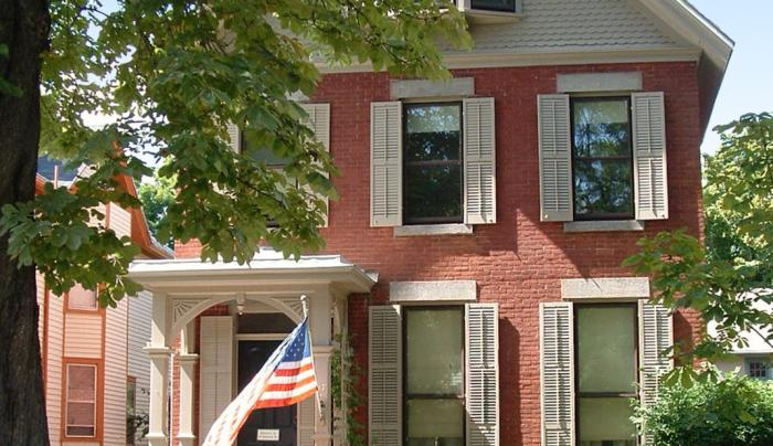 Home of Susan B. Anthony in Rochester, NY
