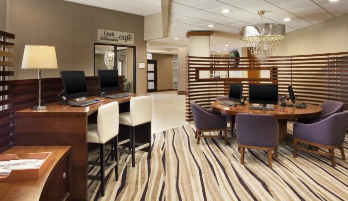 Lobby Work Space