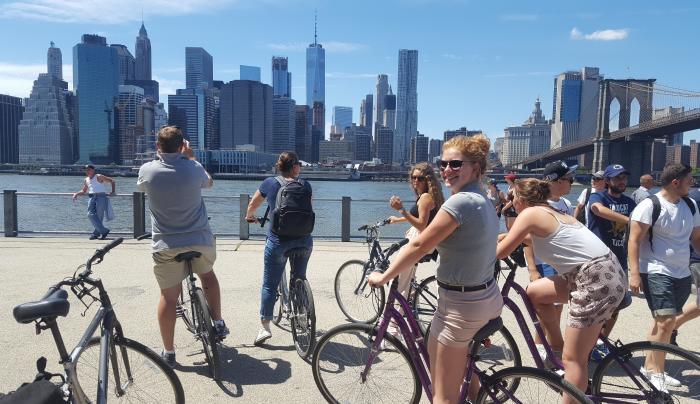 Bike Tour View