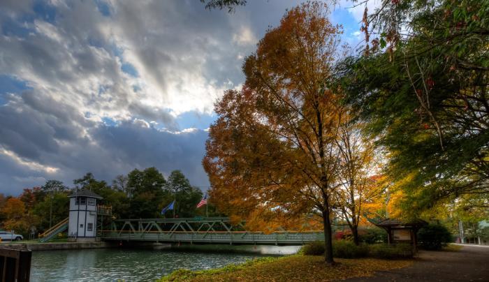Adams Basin Fall