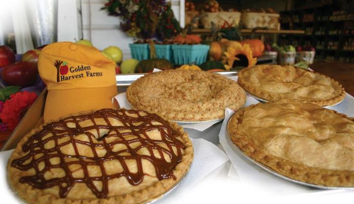 Golden Harvest pies