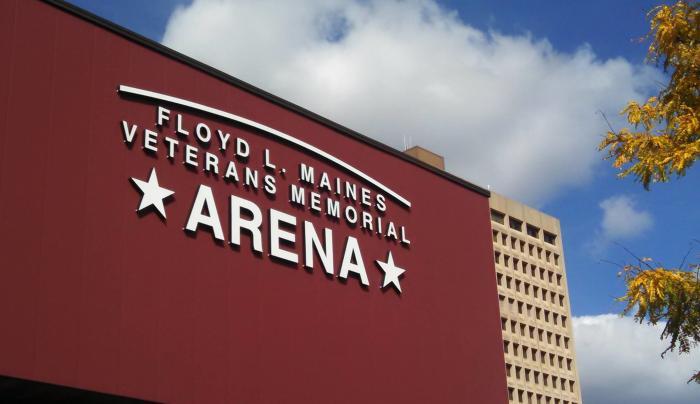 Arena facade