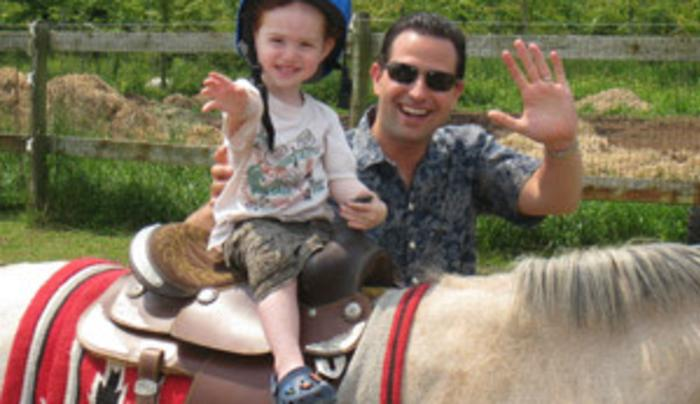 Pony Ride at Baiting Hollow