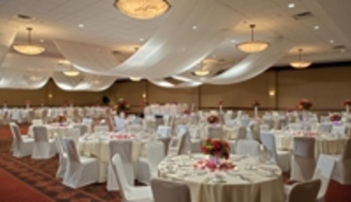 Banquet seating @ the Hilton Garden Inn