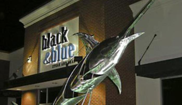 Black & Blue Steack and Crab