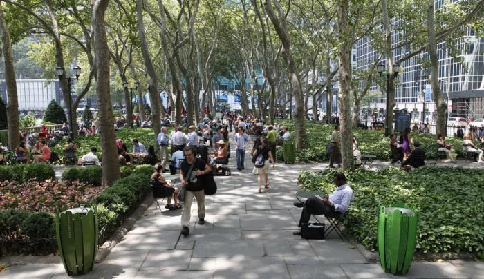 Bryant Park - Photo by Marley White - Courtesy of NYC & CO