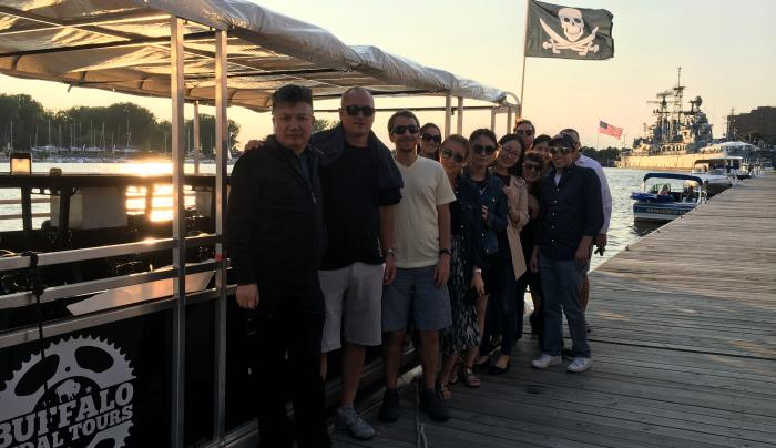 The most success businesses in WNY take their clients and coworkers on for team building!