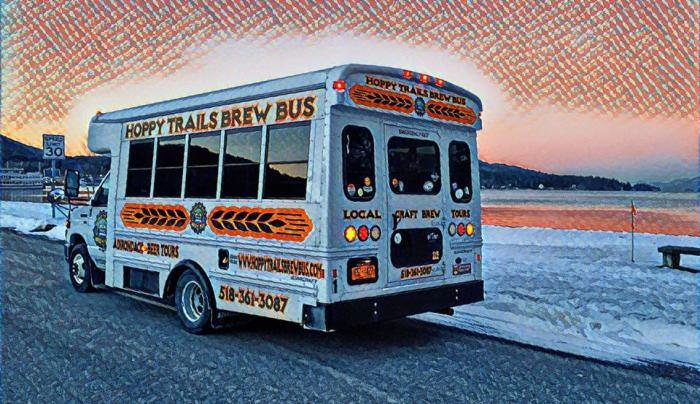 Hoppy Trails Brew Bus