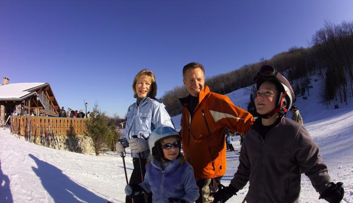 Holiday Valley Resort Skiing - Photo by NYS ESD