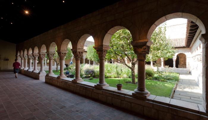The Met Cloisters, arches