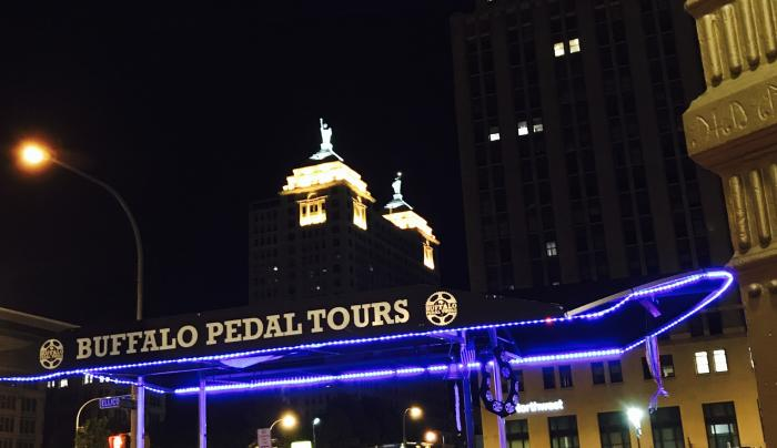 Coors beer- Buffalo Pedal Tours