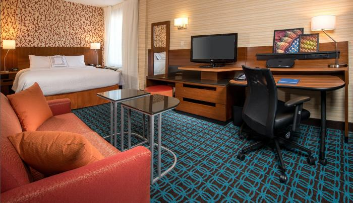 king studio at Fairfield Inn & Suites New York Manhattan/Downtown East