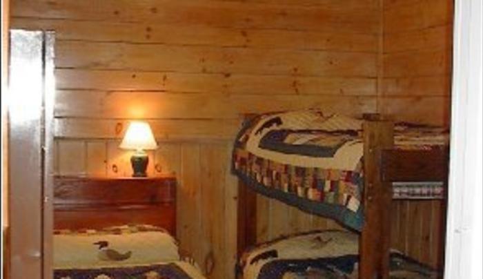 golden fish cabin interior