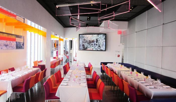 Dining room at Robert inside MAD