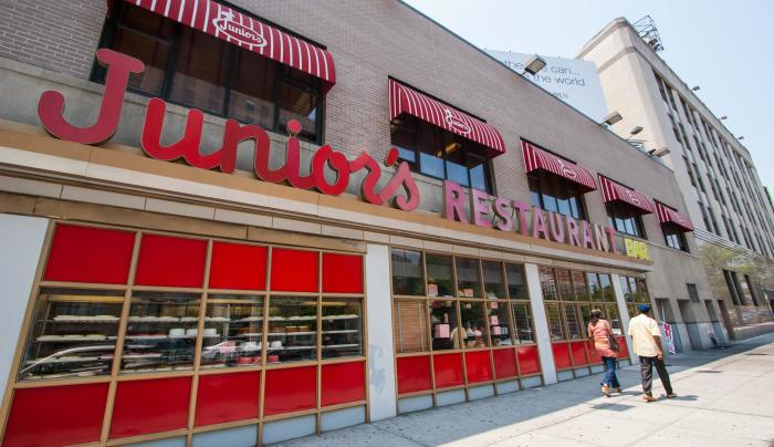 Junior's in Brooklyn