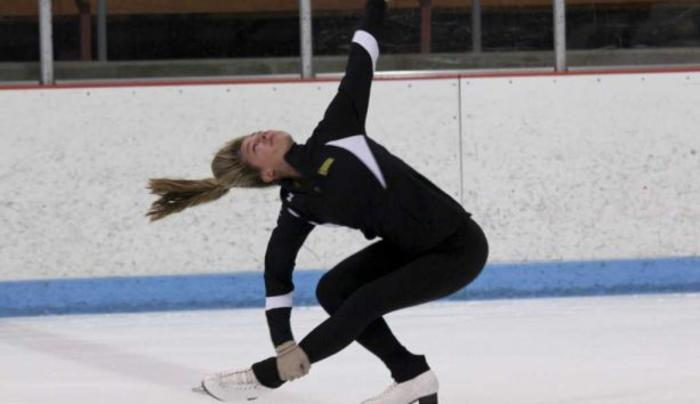 Skating at Knickerbacker Ice Arena