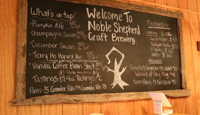 noble-shepherd-craft-brewery-menu