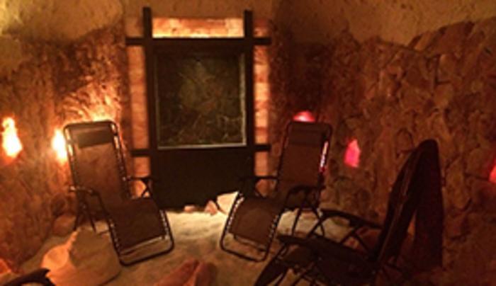 Inside Ellicottville Salt Cave