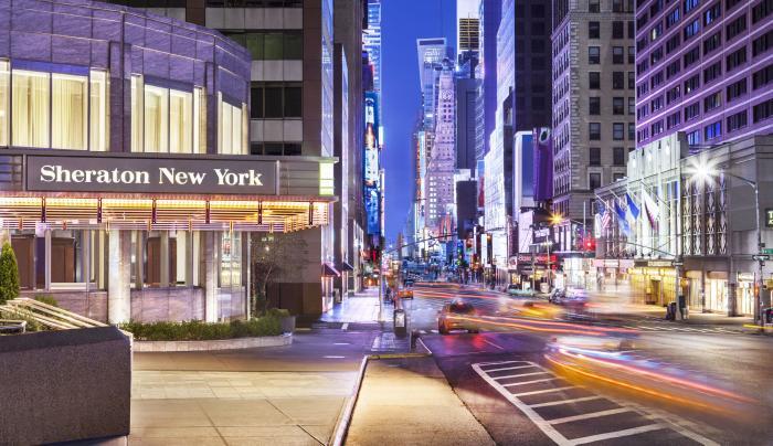 Sheraton Times Square, exterior