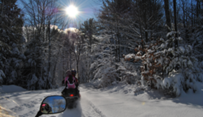 Carterville Acres Family Campground snowmobiling