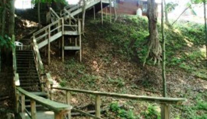 Double Eagle Lodge, Inc. Stairs to the River